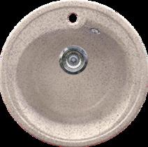 Кухонная мойка GRAN-STONE - GS 45 302 песочный
