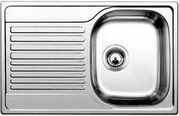 Кухонная мойка BLANCO - TIPO 45 S Compact нерж сталь декор (513675)