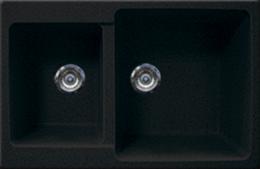 Кухонная мойка GRAN-STONE - GS 76К 308 черный