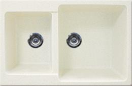 Кухонная мойка GRAN-STONE - GS 76К 331 белый