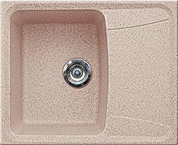 Кухонная мойка GRAN-STONE - GS 17K 315 розовый