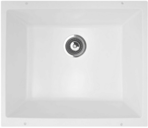 Кухонная мойка LAVA - U1 LATTE белый