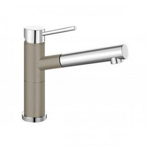 Кухонный смеситель BLANCO - Alta-S Compact серый беж/хром (517634)