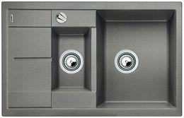 Кухонная мойка BLANCO - Metra 6 S compact - алюметаллик (513553)