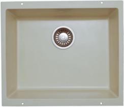 Кухонная мойка LAVA - U1 CREMA кремовый