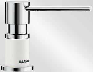 Дозатор BLANCO - 525814 Дозатор Lato хром/белый