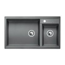 Гранитная кухонная мойка BLANCO - Metra 9 алюметаллик (513268) (в наличии) ID:NL015570