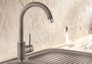 Гранитный кухонный смеситель BLANCO - Mida - мускат (524211) (в наличии) ID:NL010822