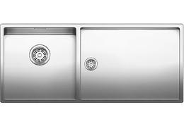 Кухонная мойка BLANCO - CLARON 400-550-Т-IF нержсталь зеркальная полировка (521600)