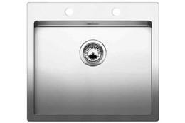 Кухонная мойка BLANCO - CLARON 550-IF нержсталь зеркальная полировка (521578)