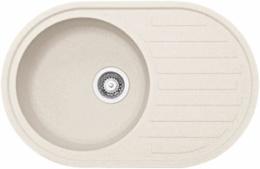 "Кухонная мойка FRANKE - ROG 611 3.5"" стоп-вент  ваниль (114.0296.605)"