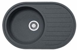 "Кухонная мойка FRANKE - ROG 611 3.5"" стоп-вент  графит (114.0157.900)"