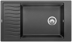 Гранитная кухонная мойка BLANCO - Elon XL 8S алюметаллик (520486)