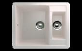 Кухонная мойка ECOSTONE - ES 21 331 белый