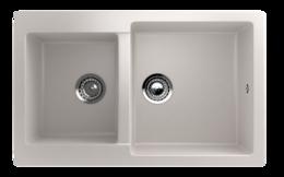 Кухонная мойка ECOSTONE - ES 28 331 белый