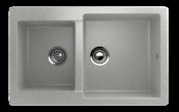 Кухонная мойка ECOSTONE - ES 28 310 серый