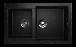 Кухонная мойка ECOSTONE - ES 28 308 черный