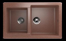 Кухонная мойка ECOSTONE - ES 28 307 терракот
