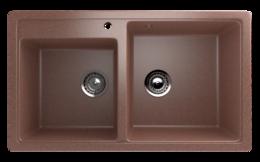 Кухонная мойка ECOSTONE - ES 30 307 терракот