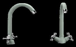 Кухонный смеситель ECOSTONE - 07 310 серый