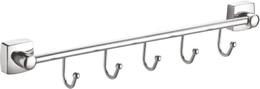 Крючек для полотенца - Fixsen - FX-61305B-5 KVADRO