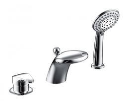 Смеситель для ванны и душа - BRAVAT - F5140197CP-1-RUS WAVE