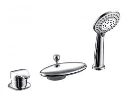 Смеситель для ванны и душа - BRAVAT - F5140197CP-RUS WAVE