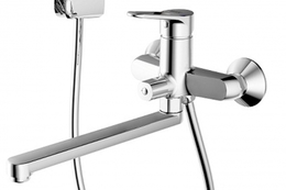 Смеситель для ванны и душа - BRAVAT - F6111147C-LB ECO