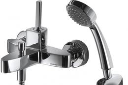 Смеситель для ванны и душа - BRAVAT - F679113C-B SPRING