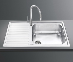 Кухонная мойка SMEG - LGM861S-2