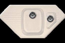 Кухонная мойка GRAN-STONE - GS 10K 331 белый