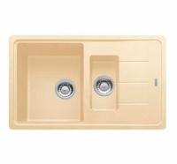 Гранитная кухонная мойка FRANKE - BFG 651-78  вент-авт  ваниль (114.0296.633) (в наличии) ID:FR015837