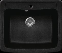 Кухонная мойка GRAN-STONE - GS 03 308 черный