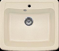 Кухонная мойка GRAN-STONE - GS 03 241 молоко