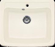 Кухонная мойка GRAN-STONE - GS 03 331 белый