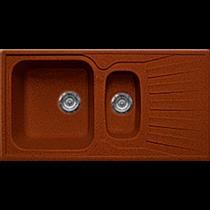 Кухонная мойка GRAN-STONE - GS 09К 334 красный марс