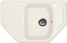 Кухонная мойка GRAN-STONE - GS 10 331 белый
