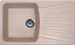 Кухонная мойка GRAN-STONE - GS 12 328 бежевый
