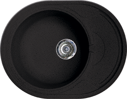 Кухонная мойка GRAN-STONE - GS 18K 308 черный