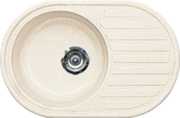 Кухонная мойка GRAN-STONE - GS 18 331 белый