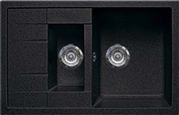 Кухонная мойка GRAN-STONE - GS 21K 308 черный