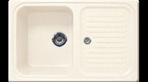 Кухонная мойка GRAN-STONE - GS 78 331 белый