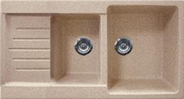 Кухонная мойка GRAN-STONE - GS 98К 302 песочный