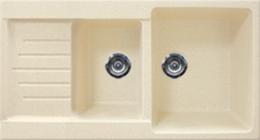 Кухонная мойка GRAN-STONE - GS 98К 328 бежевый