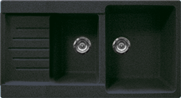 Кухонная мойка GRAN-STONE - GS 98K 309 темно-серый