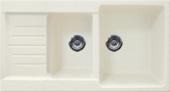 Кухонная мойка GRAN-STONE - GS 98К 331 белый