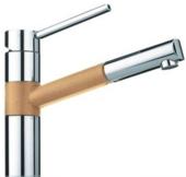 Кухонный смеситель FRANKE - 350  хром/бежевый (115.0006.698)