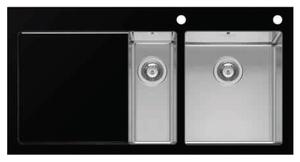 Кухонная мойка Imenza - Charisma 1 1/2B 1D черная