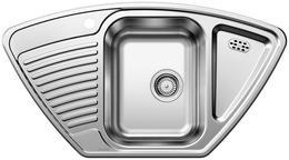 Кухонная мойка BLANCO - TIPO 9 E нерж сталь матовая (511582)