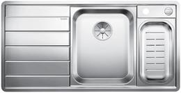 Кухонная мойка BLANCO - AXIS III 6S-IF нержсталь зеркальная полировка (522104)